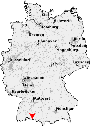 konstanz karte deutschland Postleitzahl Konstanz   Baden Württemberg (PLZ Deutschland)