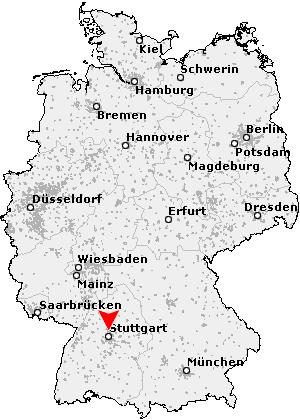 ludwigsburg karte Postleitzahl Ludwigsburg   Baden Württemberg (PLZ Deutschland)