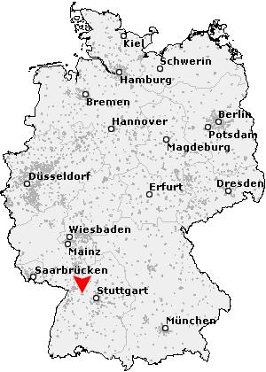Pforzheim Karte.Postleitzahl Pforzheim Baden Württemberg Plz Deutschland