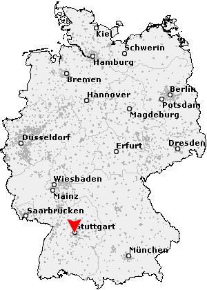 deutschland karte stuttgart Postleitzahl Stuttgart   Baden Württemberg (PLZ Deutschland)