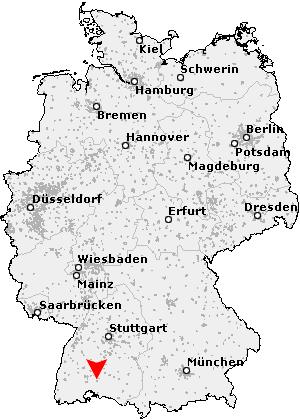 tuttlingen karte deutschland Postleitzahl Tuttlingen   Baden Württemberg (PLZ Deutschland)