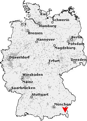 Inzell Karte.Postleitzahl Inzell Bayern Plz Deutschland