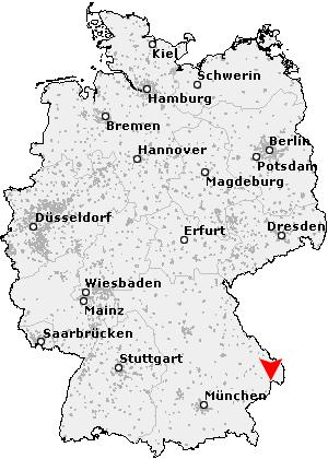 passau karte deutschland Postleitzahl Passau   Bayern (PLZ Deutschland)