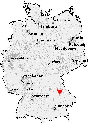deutschland karte regensburg Postleitzahl Regensburg   Bayern (PLZ Deutschland)