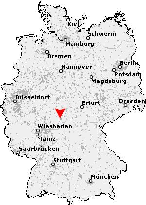 fulda deutschland karte Postleitzahl Fulda   Hessen (PLZ Deutschland)