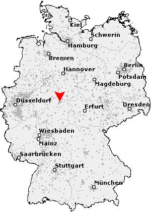Karte Kassel Und Umgebung.Postleitzahl Kassel Hessen Plz Deutschland