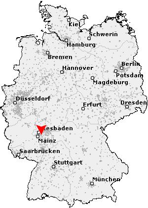 rüsselsheim karte deutschland Postleitzahl Rüsselsheim   Hessen (PLZ Deutschland)