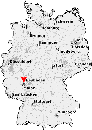 Wiesbaden Karte.Postleitzahl Wiesbaden Hessen Plz Deutschland
