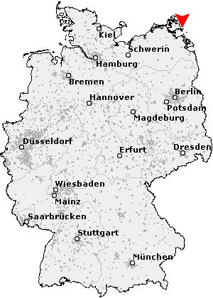 Postleitzahl Gohren Rugen Mecklenburg Vorpommern Plz Deutschland