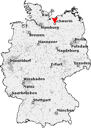 schwerin karte deutschland Postleitzahl Schwerin   Mecklenburg Vorpommern (PLZ Deutschland)