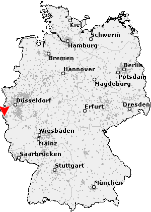 aachen karte deutschland Postleitzahl Aachen   Nordrhein Westfalen (PLZ Deutschland)