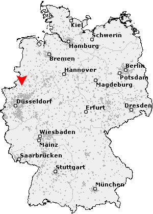 Coesfeld Location Map