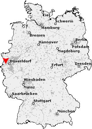 mönchengladbach karte deutschland Postleitzahl Mönchengladbach   Nordrhein Westfalen (PLZ Deutschland)