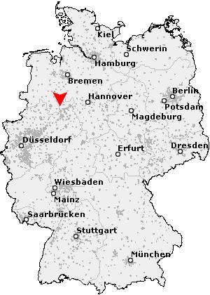 Rödinghausen Karte