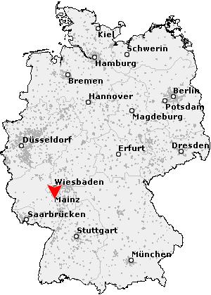 Postleitzahl Hillesheim, Rheinhessen - Rheinland Pfalz
