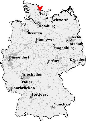 kiel landkarte deutschland Postleitzahl Kiel   Schleswig Holstein (PLZ Deutschland)