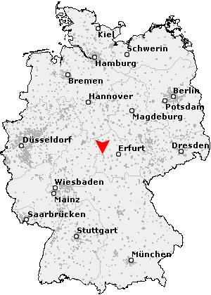 eisenach karte deutschland Postleitzahl Eisenach   Thüringen (PLZ Deutschland)