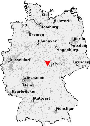 Landkreis Gotha Karte.Postleitzahl Gotha Thuringen Plz Deutschland