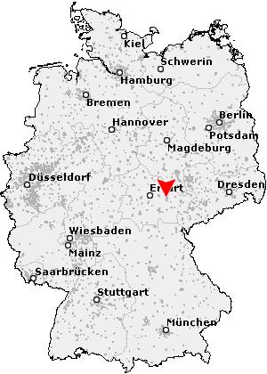 jena deutschland karte Postleitzahl Jena   Thüringen (PLZ Deutschland)