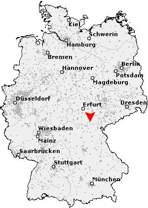 Thüringer Wald Karte.Postleitzahl Lehesten Thüringer Wald Thüringen Plz Deutschland