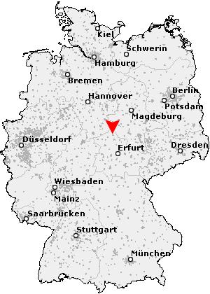 Nordhausen Karte.Postleitzahl Nordhausen Thüringen Plz Deutschland