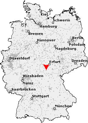 suhl karte deutschland Postleitzahl Suhl   Thüringen (PLZ Deutschland)